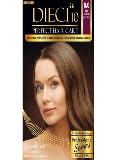 Dıecı Dıecı 10 Perfect Kit Saç Boyası 8,0 Açık Kumral Kahve
